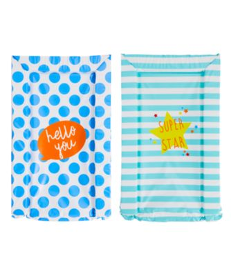 mothercare changing mats - 2 pack