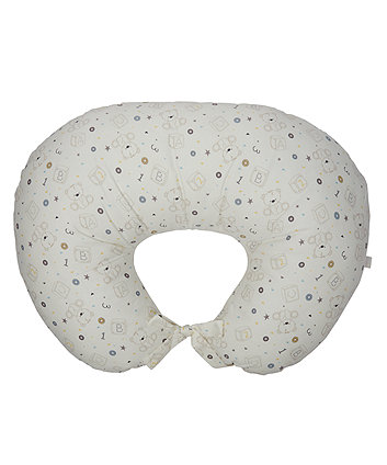 teddy's toy box feeding pillow