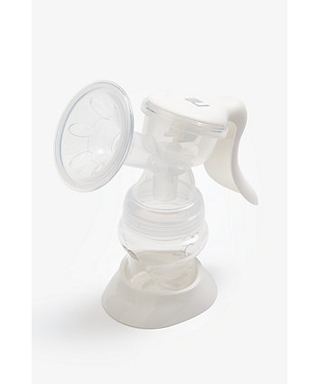mothercare manual breast pump with 150ml bottle