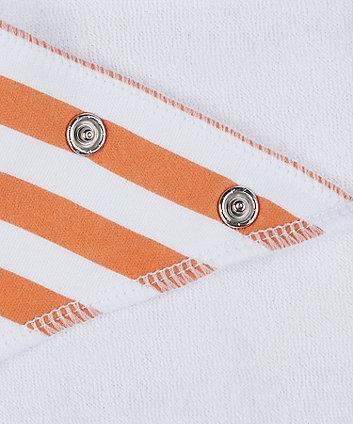 slogan dribbler bibs - 3 pack