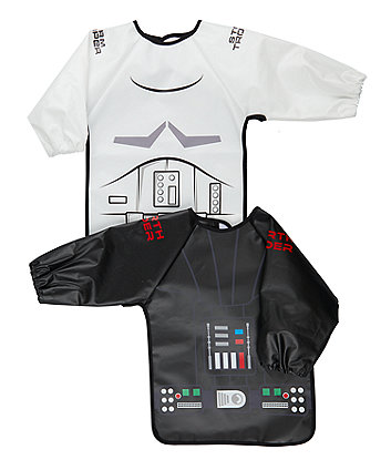 Star Wars coverall bibs - 2 pack