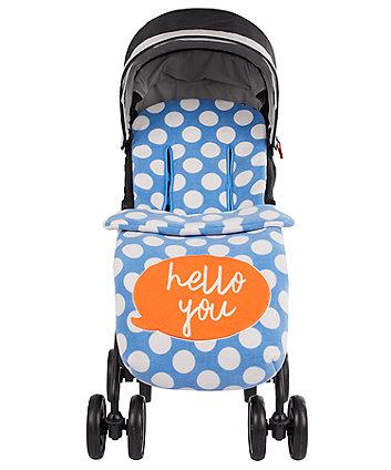 mothercare fleece cosytoe - hello you