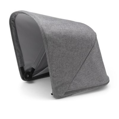 Bugaboo fox and cameleon³ plus sun canopy – grey melange