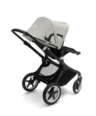 Bugaboo fox and cameleon³ plus breezy sun canopy -  arctic grey