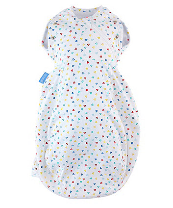The Gro Company confetti grosnug 2-in-1 swaddle and newborn grobag (0-3 months, light)