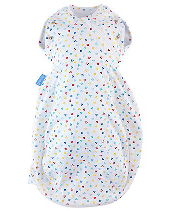 The Gro Company confetti  grosnug 2-in-1 swaddle and newborn grobag (0-3 months, cosy)