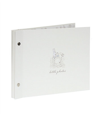 peter rabbit baby photo album