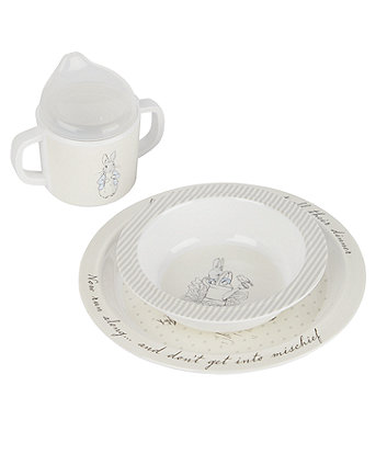 peter rabbit melamine dinner set