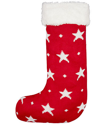 mothercare heritage star knitted stocking