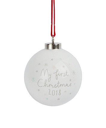 my first christmas bauble