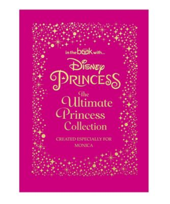 Disney princess ultimate collection - standard personalised book