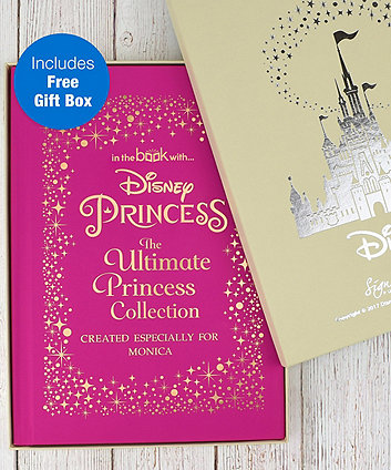 4e75e7ee5 Disney princess ultimate collection - standard personalised book
