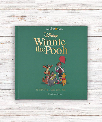 timeless winnie the pooh personalised book