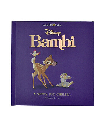 timeless bambi personalised book