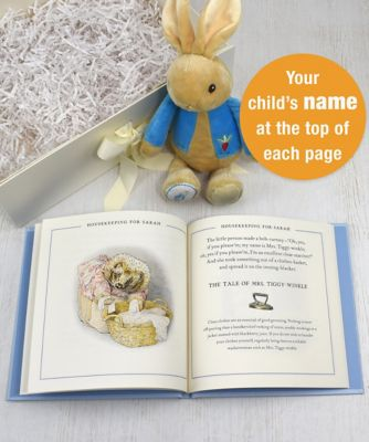 peter rabbit guide to life plush toy gift set