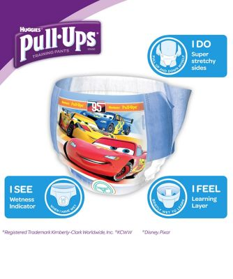 Huggies pull ups day time potty training pants blue - medium (16 pants)