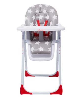 mothercare highchair - star