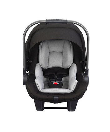Nuna pipa lite lx baby car seat with ISOFIX base - caviar *exclusive to mothercare*