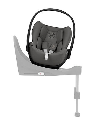 Cybex cloud z i-size baby car seat - manhattan grey