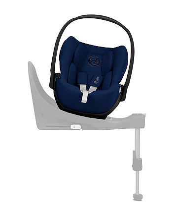 Cybex cloud z i-size baby car seat - midnight blue