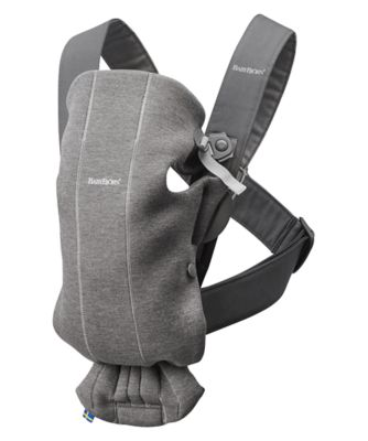 BabyBjörn baby carrier mini - dark grey 3d jersey