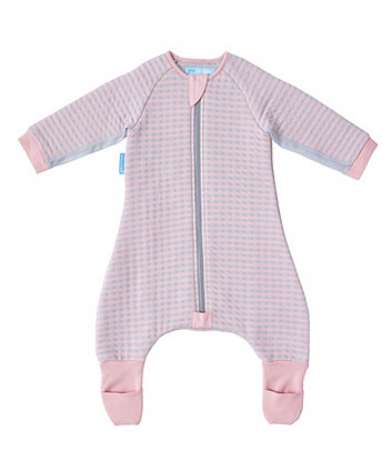The Gro Company pink stripe groromper toddler bedding (12-24 months, cosy)