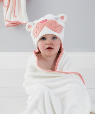 The Gro Company sophie the sea lion grotowel hooded bath towel (6-48 months) *exclusive to mothercare*