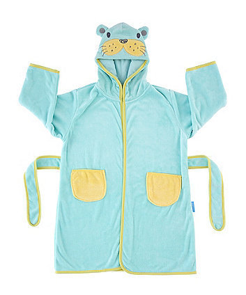 The Gro Company sam the sea lion grorobe hooded bath robe (12-36 months) *exclusive to mothercare*