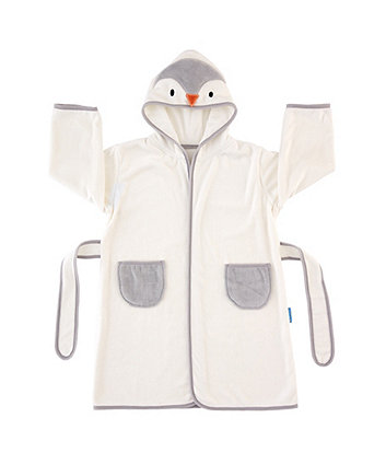 The Gro Company poppy the penguin grorobe hooded bath robe (12-36 months) *exclusive to mothercare*