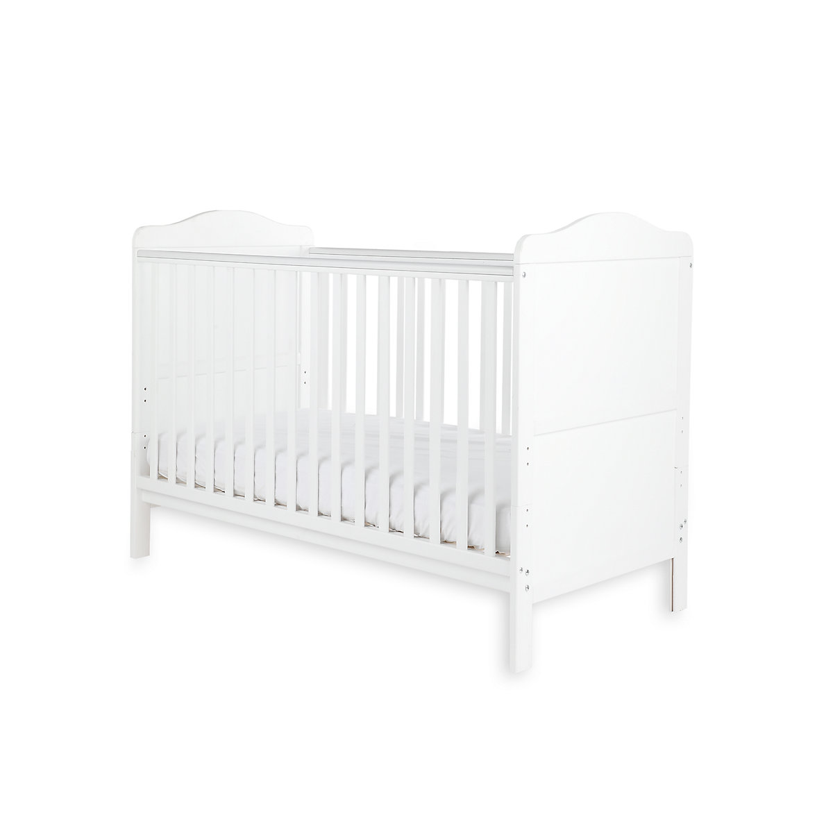 Little Acorns Winchester Cot Bed   White