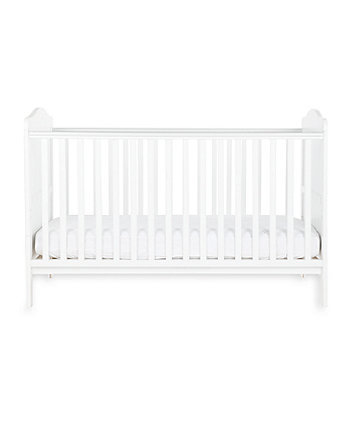 Little Acorns winchester cot bed - white