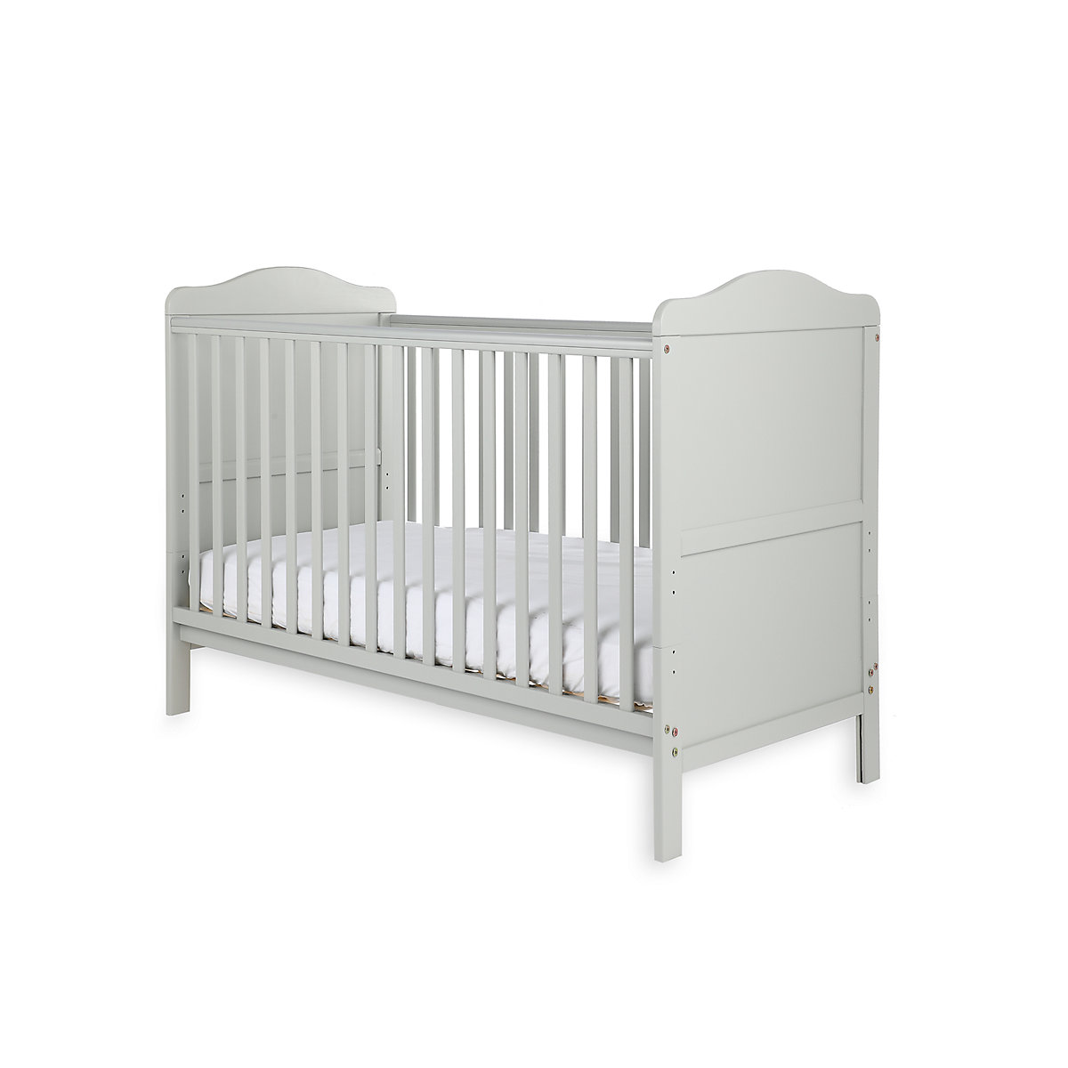 Little Acorns Winchester Cot Bed   Grey