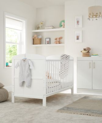 Little Acorns harbour changing unit - white