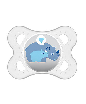 MAM 150ml starter cup with soother (0+ months) - blue