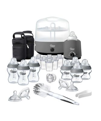 Tommee Tippee closer to nature complete feeding kit - grey