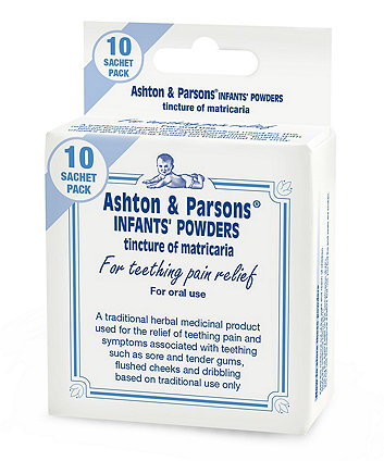 Ashton & Parsons infants powders 10's