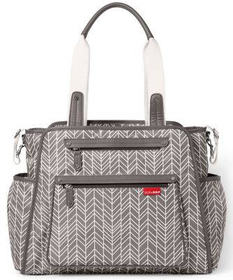 Skip Hop grand central take-it-all changing bag - grey feather