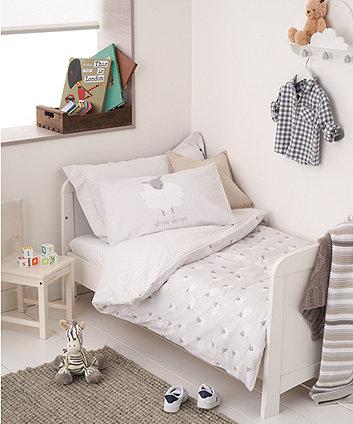 sheep cot bed duvet set