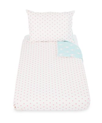 bunny cot bed duvet set