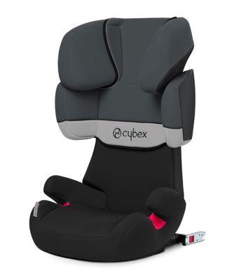 Cybex solution x fix highback booster seat - gray rabbit