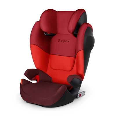 Cybex solution m fix sl highback booster seat - rumba red