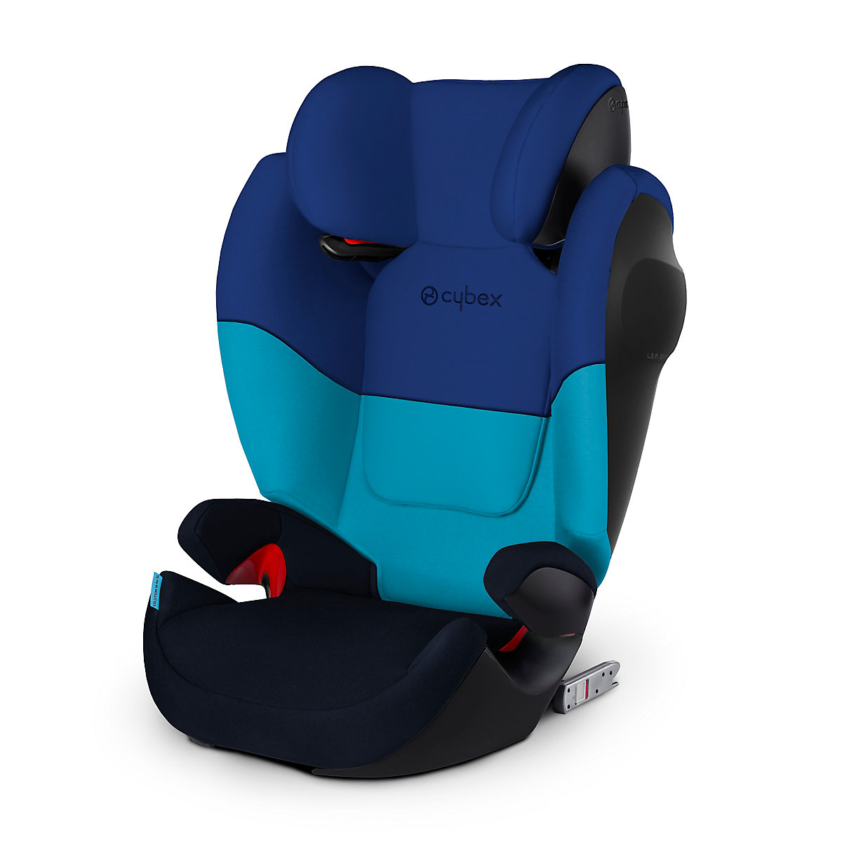 Cybex solution m fix sl highback booster seat - blue moon