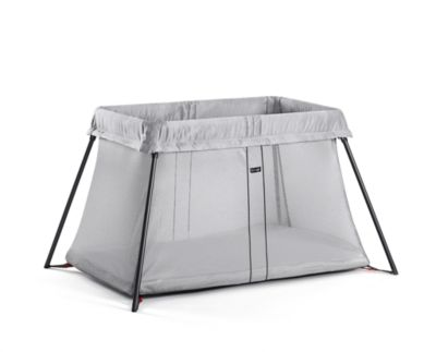 BabyBjörn travel cot light - silver