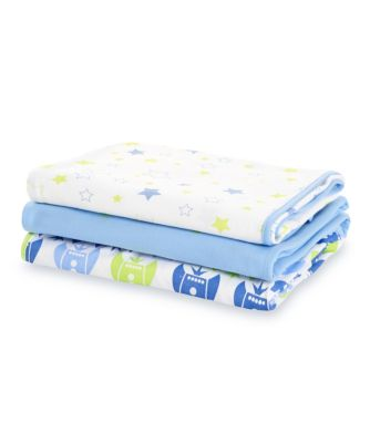 space dreamer jersey swaddle blankets - 3 pack