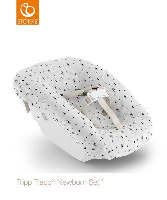 Tripp Trapp® newborn textile set - white mountains
