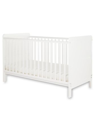 Little Acorns classic cot bed - white
