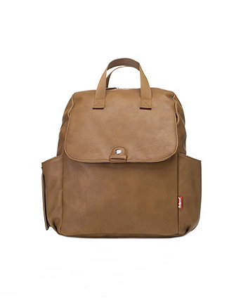 Babymel robyn convertible backpack - pu tan