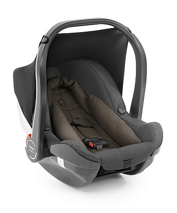 Oyster carapace i-Size car seat - truffle