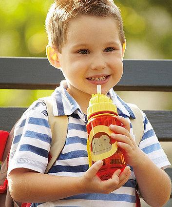 Skip Hop zoo straw bottle - monkey