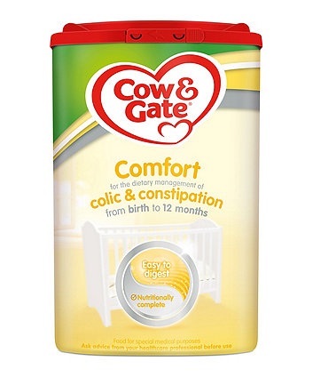 Cow & Gate comfort baby milk formula from birth 800g